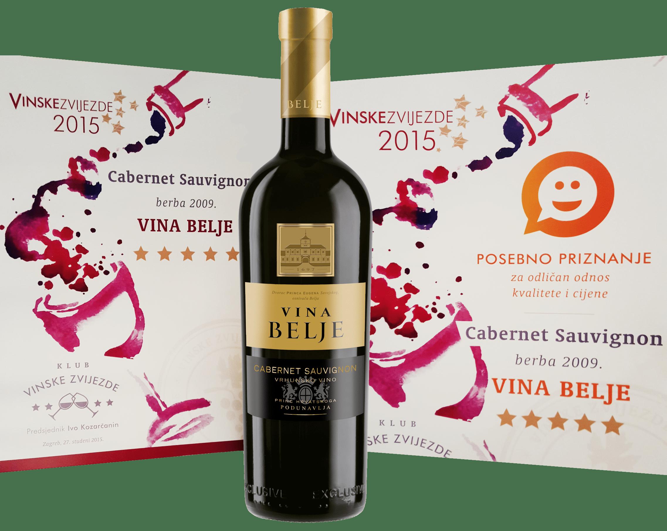 Cabernet Sauvignon - Vinske zvijezde 2015