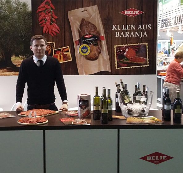 Belje and Agrolaguna at Grune Woche in Berlin