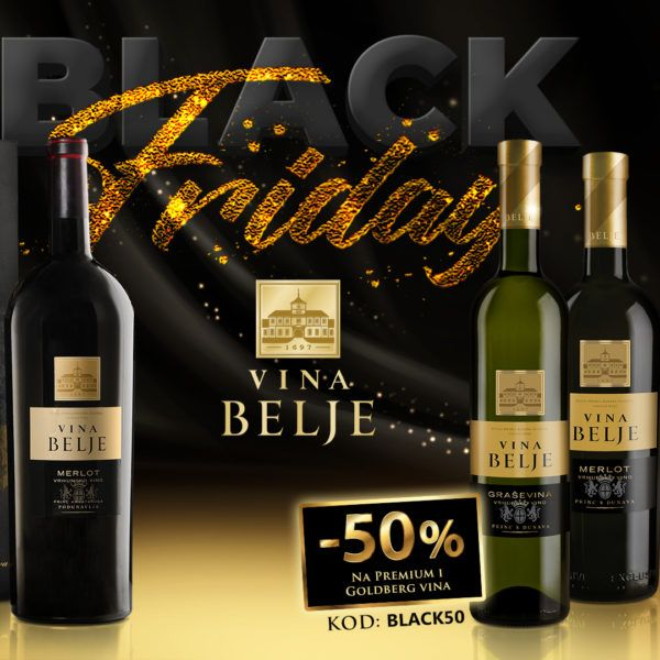 Black Friday na Vina Belje