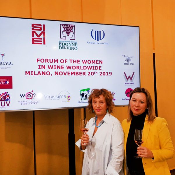 Vina Belje at the Forum of the Women in Wine Worldwide