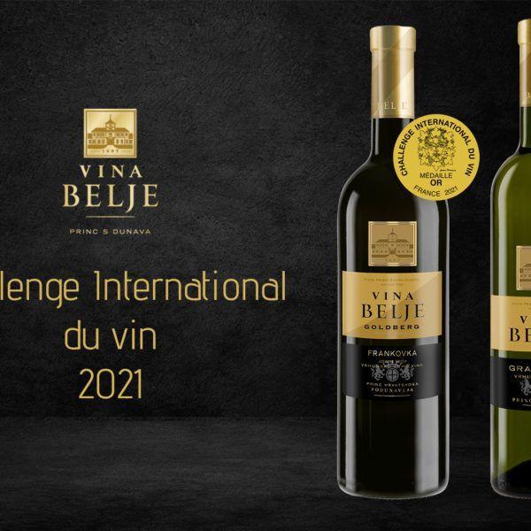 Vina Belje nagrađena na velikim svjetskim ocjenjivanjima u Francuskoj