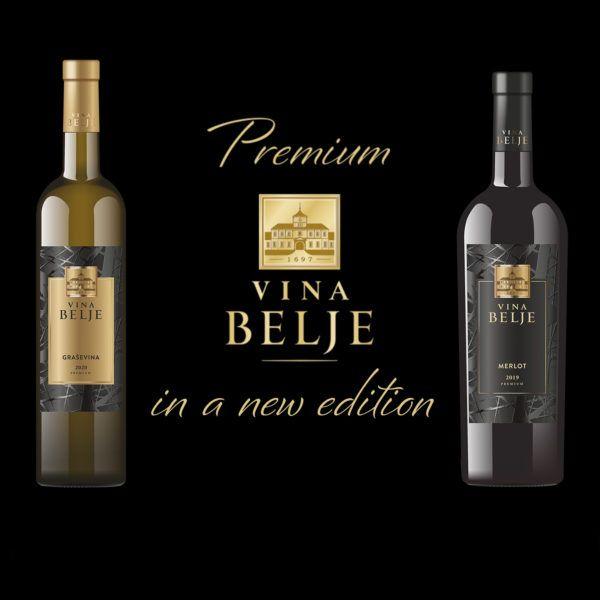 Vina Belje boasts a new appearance in the market